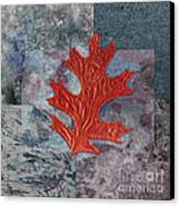Leaf Life 01 - T01b Canvas Print by Variance Collections