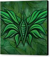 Leafy Bug Canvas Print