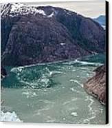 Leconte Glacier Canvas Print by Mike Reid