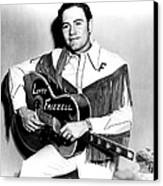 Lefty Frizzell, 1950s Canvas Print
