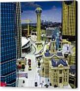 Legoland Dallas Iv Canvas Print by Ricky Barnard