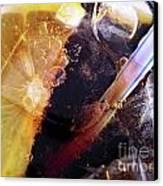 Lemon And Straw Canvas Print