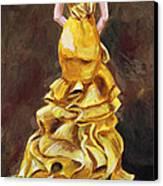 Lemon Twist Canvas Print