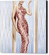 Lena Horne, Ca. 1950s Canvas Print
