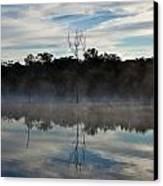 Lenthalls Dam 10 Canvas Print by David Barringhaus