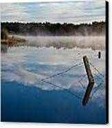 Lenthalls Dam 17 Canvas Print by David Barringhaus