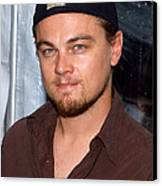 Leonardo Dicaprio Arrives Canvas Print by Everett