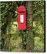 Letterbox In A Hedge Canvas Print