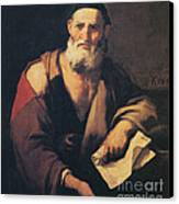 Leucippus, Ancient Greek Philosopher Canvas Print by Science Source