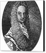 Lewis Morris (1671-1746) Canvas Print by Granger