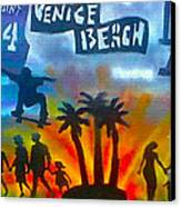 Life's A Beach Canvas Print by Tony B Conscious