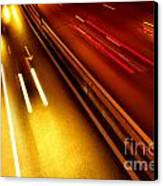 Light Trails Canvas Print