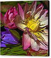 Lilies No. 20 Canvas Print by Anne Klar