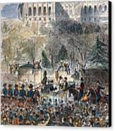 Lincoln Inauguration Canvas Print