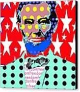 Lincoln Canvas Print by Ricky Sencion