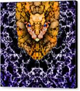 Lion's Roar Canvas Print by Christopher Gaston