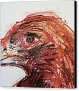 Lipstick Eagle Canvas Print by Iris Gill