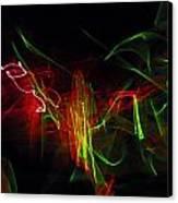 Liquid Saphire 2 Canvas Print by Cyryn Fyrcyd