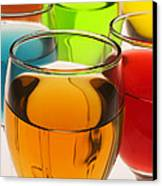 Liquor Glasses Canvas Print by Garry Gay