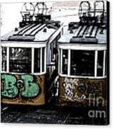 Lisbon Tram Canvas Print by Gabriel Calahorra