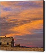 Little House On The Colorado Prairie 2 Canvas Print by James BO  Insogna