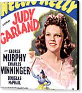 Little Nellie Kelly, Judy Garland, 1940 Canvas Print by Everett