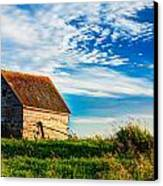 Little Shed On The Prairie Canvas Print