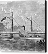 Livingstone: Steam Launch Canvas Print by Granger