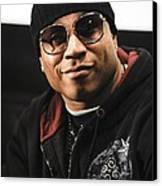 Ll Cool J At The Press Conference Canvas Print