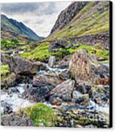 Llanberis Pass Canvas Print by Adrian Evans