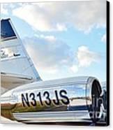 Lockheed Jet Star Canvas Print