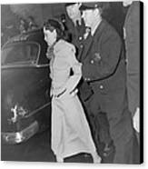 Lolita Lebron B. 1919, Under Arrest Canvas Print by Everett