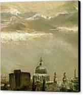 London City Dawn 2 Canvas Print