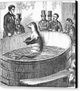 London: Talking Fish, 1859 Canvas Print