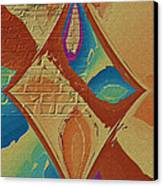 Look Behind The Brick Wall Canvas Print by Deborah Benoit