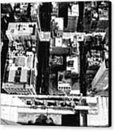 Looking Down Bw8 Canvas Print by Scott Kelley