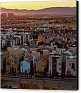 Los Angeles Vista Canvas Print by Photo taken by Phong Ho