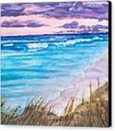 Low Tide Canvas Print by Jeanette Stewart