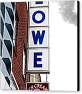 Lowe Drug Store Sign Color Canvas Print