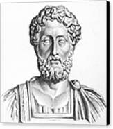Lucius Commodus (161-192 A.d.) Canvas Print by Granger
