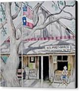 Luckenbach Canvas Print by Stefon Marc Brown