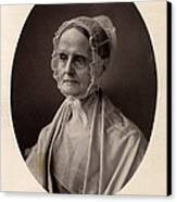 Lucretia Coffin Mott.  F. Gutekunst Canvas Print by Everett