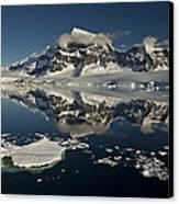 Luigi Peak Wiencke Island Antarctic Canvas Print by Colin Monteath