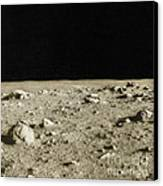 Lunar Surface Canvas Print by Science Source
