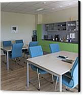 Lunch Room Canvas Print by Jaak Nilson