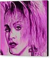 Madonna Canvas Print by Michael Mestas