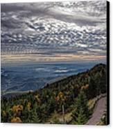 Magic Autumn Morning Canvas Print by Daniel Lowe