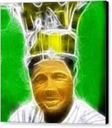 Magical Babe Ruth Canvas Print
