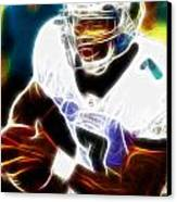 Magical Michael Vick Canvas Print by Paul Van Scott