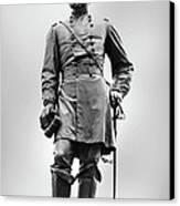 Major General John Reynolds Statue At Gettysburg Canvas Print by Randy Steele